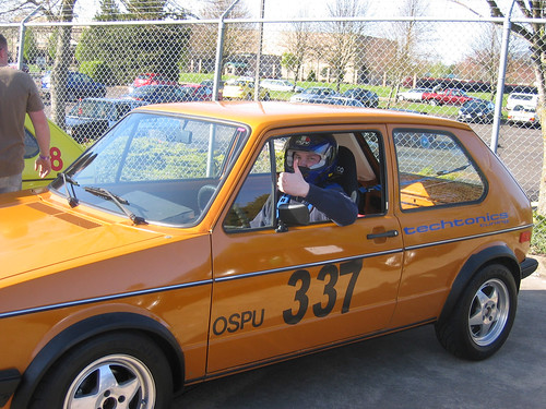 Rabbit Racer at autocross