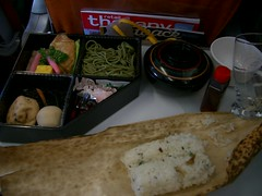 Meal on Virgin Flight LHR-NRT (After)
