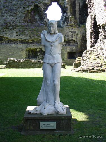 Richard III 的塑像