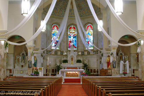 Interior of St. Mary Catholic Church