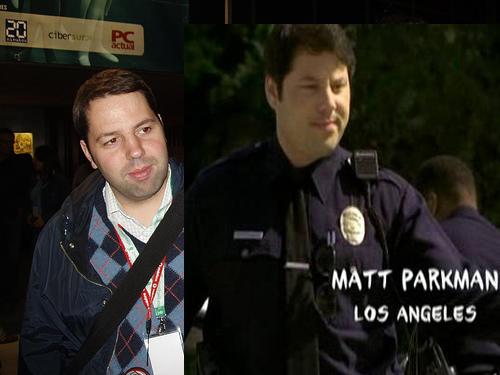 Parecidos Razonables _Juanjaen-Matt Parkman de Heroes
