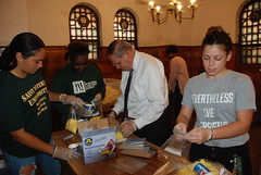 Menendez Participates in St. Peter's National Day of Service