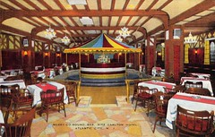 Tag: Vintage cards (Mary Hawkins) Tags: postcard postcrossing vintage card carousel atlanticcity nj ritzcarlton