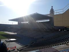 Tribüne des Olympiastadions (christophrohde) Tags: olympiastadion tribüne barcelona spanien
