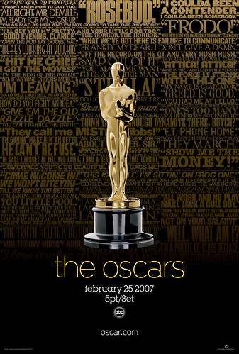 79th oscars poster