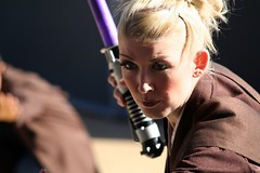 Jedi Trainer intense stare (FrogMiller) Tags: california ca costumes cute cali kids training canon fun starwars yoda disneyland performance lucasfilm martialarts calif lucas master entertainment socal darth weapon empire saber jedi sw lightsaber vader orangecounty anaheim oc academy performers tomorrowland lightsabers theoc apprentice maul skywalker jediknight theforce castmembers entertainers disneylandresort padawan jediknights youngling castmember robertmiller jeditrainingacademy tomorrowlandterrace frogberto