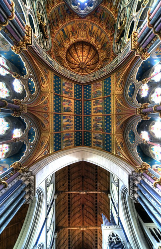 Saint Mary, Studley Royal - Ceiling Scape