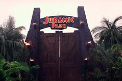 jurassic park's door