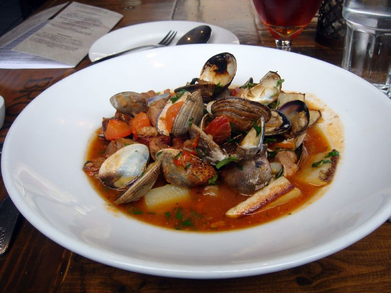 Portugese Pork & Clams Stew