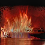 Hdr fireplace