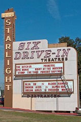 Starlight Six Drive-In (airnos) Tags: atlanta sign movie drivein starlight starlightsix project365