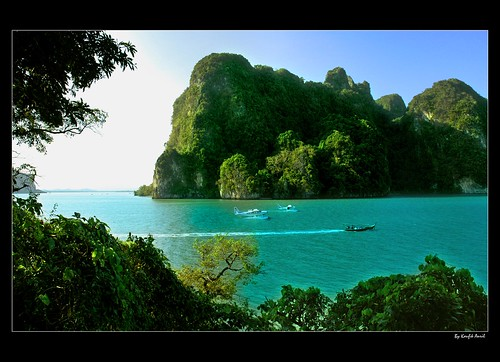 Beautiful Phang Nga Bay por Kaufik Anril.