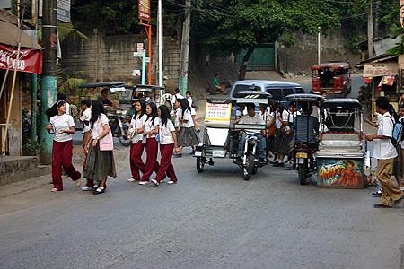 Antipolo rush hour