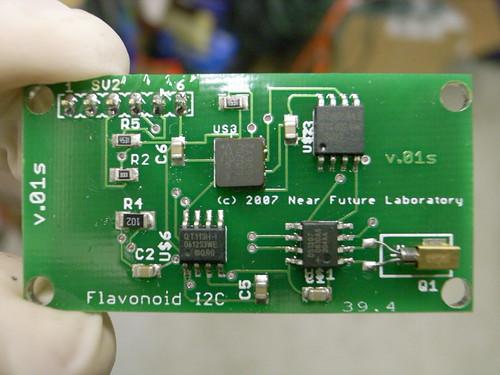 Flavonoid v.01s (I2C)