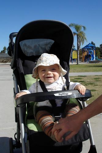 stroller boy
