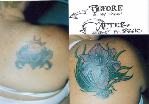 Cover up Tattoo #1