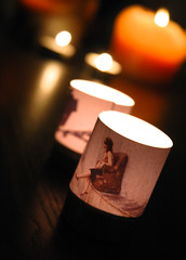 DIY Personalized Candle Lights