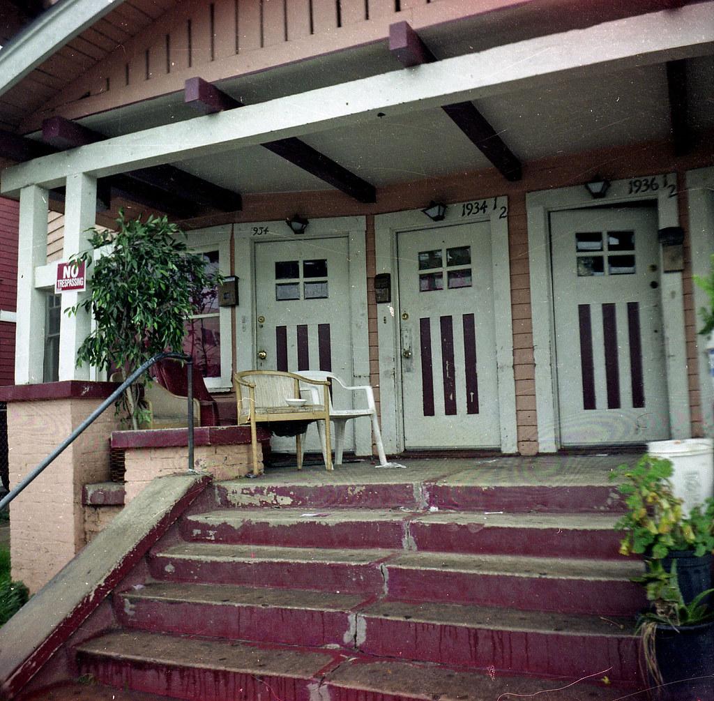 It's that porch again ...
