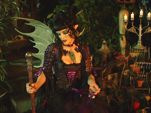 Veronica Varlow as The Dark Faerie Queen