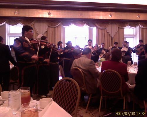 Mariachi Playing at Edinburg Day Luncheon