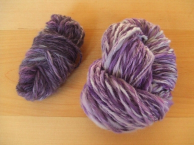 Difference in Color - Mixed Wool vs Merino