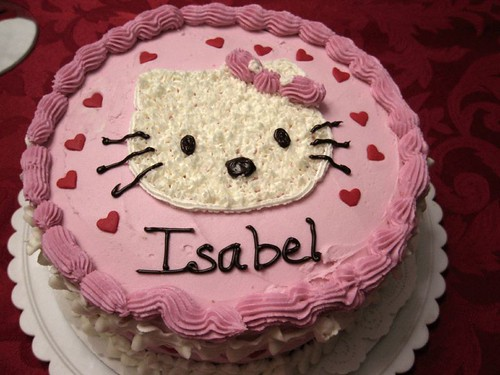 Isabel's 4th birthday cake