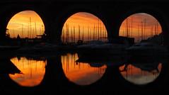 Sunrise In Le Rague (lrsmethurst) Tags: france reflection art sunrise geotagged dawn explore 1855mmf3556g novideo cotcmostfavorited orangeskies d80 outstandingshots anawesomeshot impressedbeauty lerague onlyyourbestshots wowiekazowie lpreflect thegalleryoffinephotography