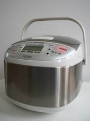 The ricecooker has arrived!!!