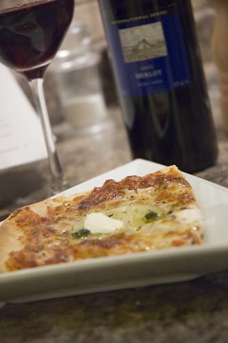 mmmmm....pizza dauphinoise