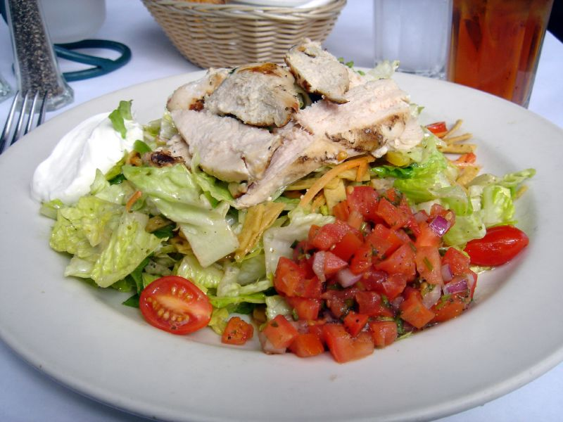 Tortilla Lime Chicken Salad