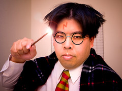 Day 142: Wizard (arkworld) Tags: selfportrait wizard harry potter harrypotter spoof 365 moo2 365days moodgreat