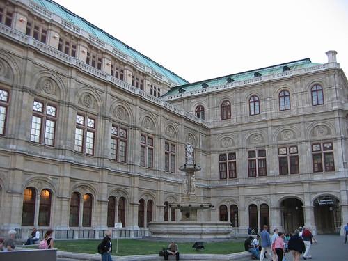בנין האופרה של וינה, אוסטריה