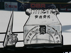 Long lasting ice sculpture - Comerica Park