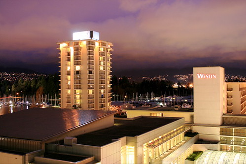 The Westin Bayshore at the end of the world, or just in Vancouver
