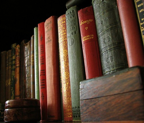 More old books... [Photo by guldfisken] (CC BY-SA 3.0)