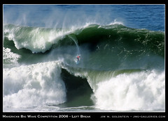 Mavericks Left Break (jimgoldstein) Tags: ocean california sea water us big bravo whitewater surf unitedstates pacific wave competition 2006 surfing princeton halfmoonbay swell mavericks pillarpoint biggun blueribbonwinner giantwave jmggalleries jimmgoldstein wowiekazowie