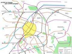 Het metroproject - plan 2000