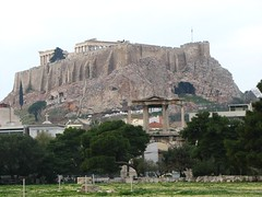 Acropolis - view from Plaka (karlah1) Tags: athens greece ancientgreece greekruins