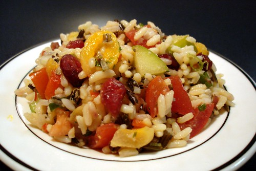 Fruits, Nuts, Beans And Rice Salad Recipes — Dishmaps