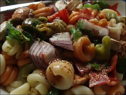 Supreme Pizza Pasta Salad