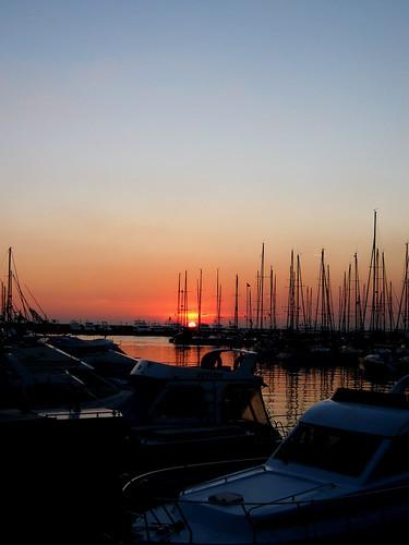Sunset in Marmara