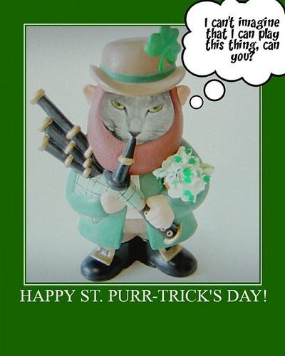 Happy St. Purr-trick's Day!
