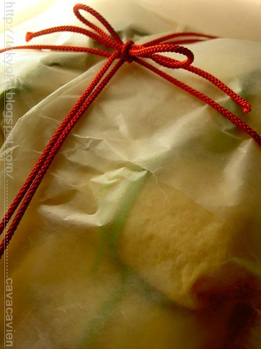 wrap up chakin-sushi