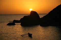 (Oleg Zdorik) Tags: sunset sea india evening dusk goa d70s 2007 palolem goaindia022007