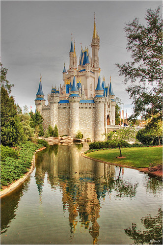 Magic Kingdom Castle reflectionB