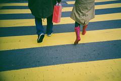 Walking is un American! (lomokev) Tags: sanfrancisco california road street pink people yellow bag walking hearts lca fuji heart boots streetscene lomolca fujireala wellingtonboots crosswalk tomp wellies galoshes tomo reala wellingtons zebracrossing lovehearts loveheart fujisuperiareala rainboots wellingtonboot theflip sanfrancisco2007 file:name=day04roll04100asa25 tomotron flickr:user=theflip flickr:user=tomotron rota:type=showall rota:type=composition rota:type=portraits rota:type=cityscape image_selection:bp=people image_selection:bp=socialpeople posted:to=tumblr