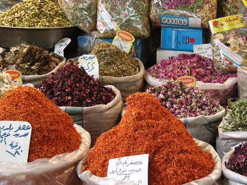 HISTORIA CLASICA: Venta de especias en el zoco de Damasco