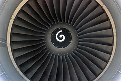Jet engine optical illusion - by Johnny Vulkan