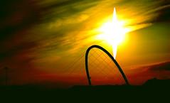 Ogni Cosa  Illuminata (Knrad) Tags: sunset sky italy clouds torino italia tramonto cielo flare turin lingotto villaggioolimpico viewfromlingotto camminatasospesa veryrigidsearch esuperiore atechesaistarmiaccanto nonpercolleranonperrovinaolarossaaurora corradogiulietti