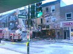 Maison du Roti après l'incendie
